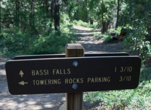 bassi falls trail